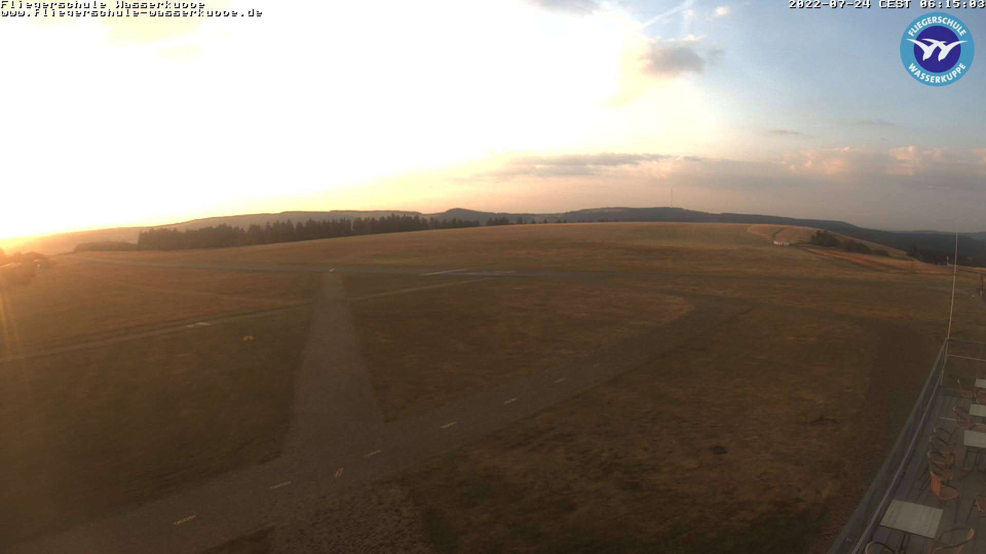 Webcam at the Wasserkuppe air sports center