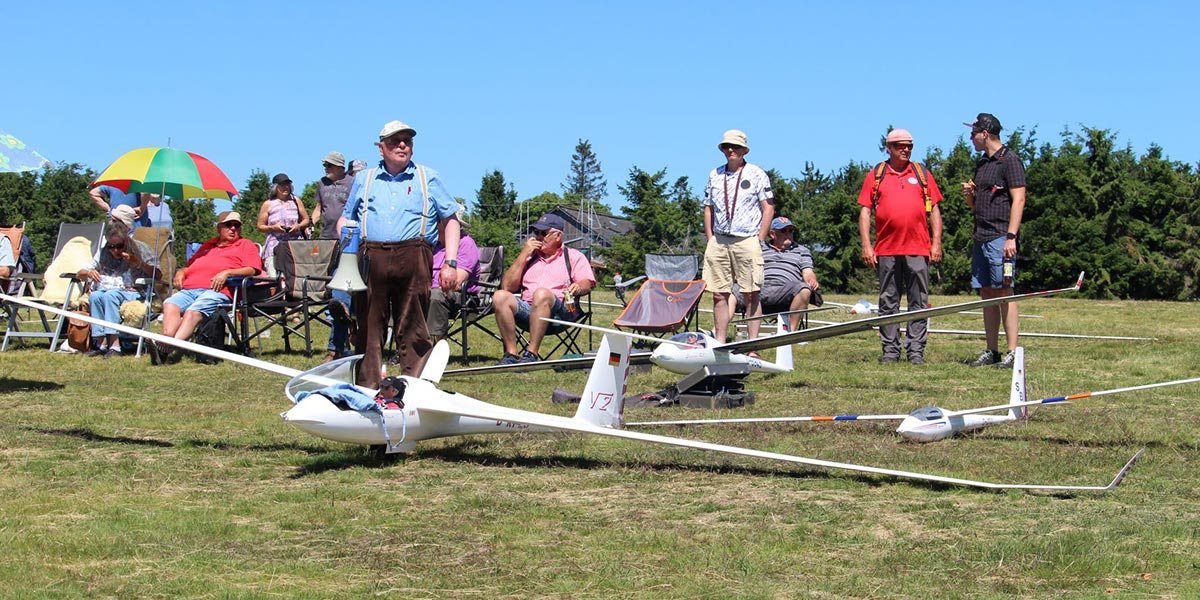 Model flight competition Wasserkuppe