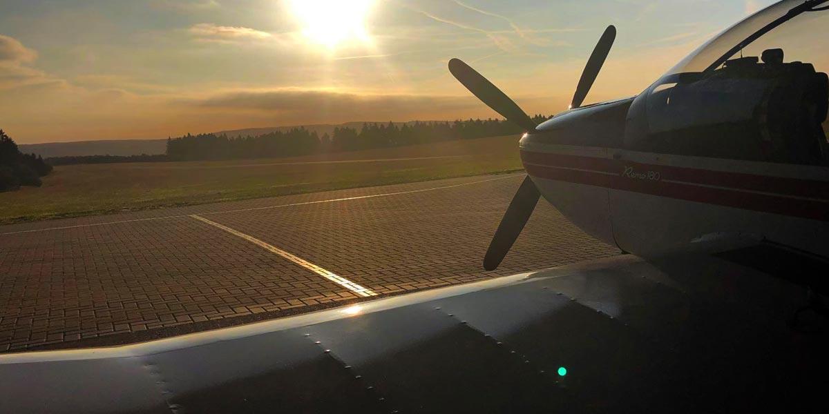 Motorflug-Kurs Wasserkuppe