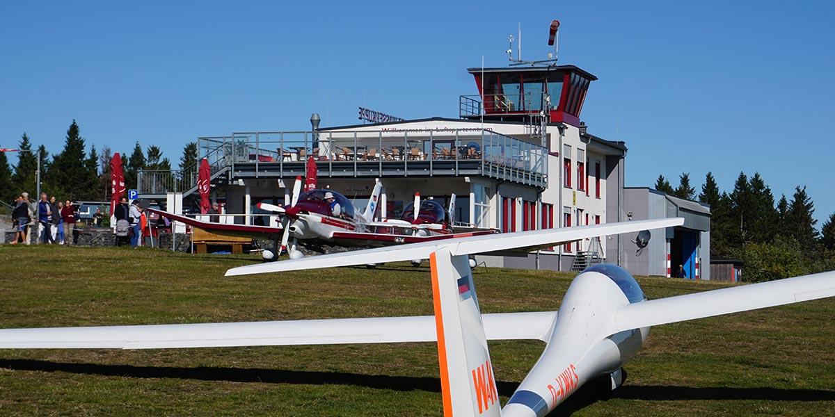 Аэродромный ресторан Café Weltensegler Wasserkuppe