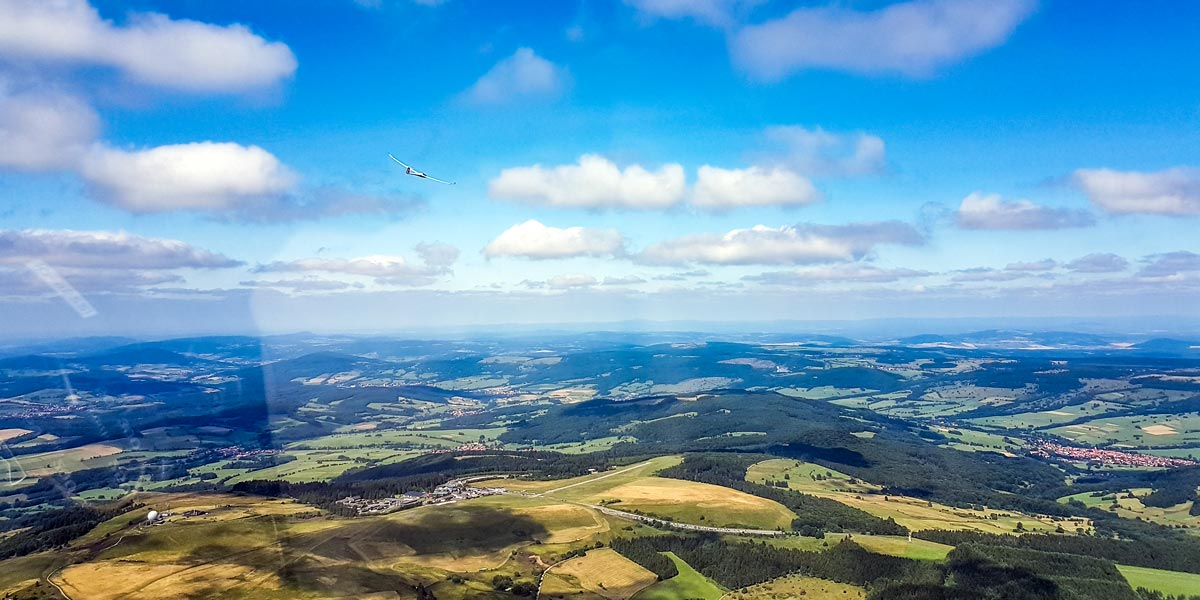 Tečaj tekaškega letala Wasserkuppe